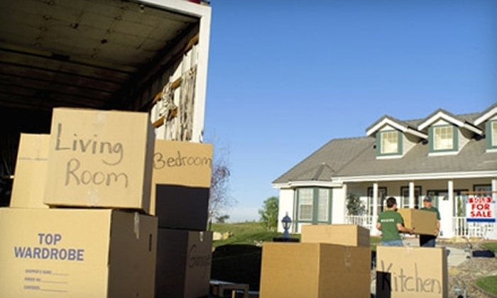 SS&D The Movers - London, ON: $45 for One Hour of Moving, Plus Six Boxes, from SS&D The Movers (Up to $152.52 Value)