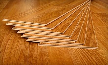 200 Sq. Ft. of Laminate Flooring Installation (a $700 value) - Woodabulous Flooring in