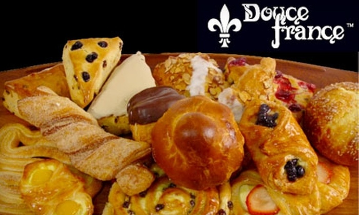 Douce France Cafe and Bakery - Stanford University: $5 for $10 Worth of Pastries, Desserts, Coffee, and Tea at Douce France Cafe and Bakery in Palo Alto