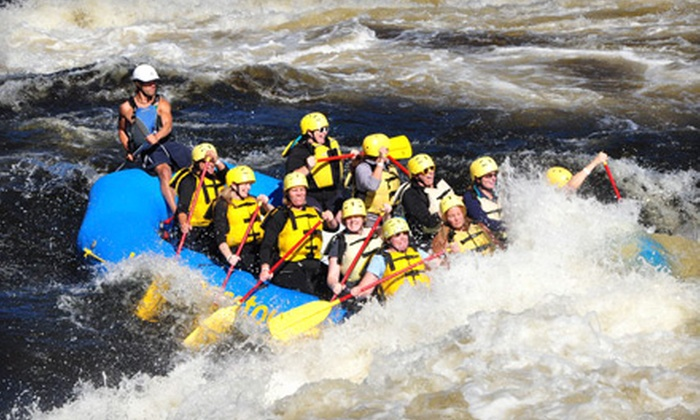 Wilderness Tours - Beachburg: $99 for a Weekend Summer Resort and Rafting Package from Wilderness Tours in Foresters Falls, ON ($199 Value)