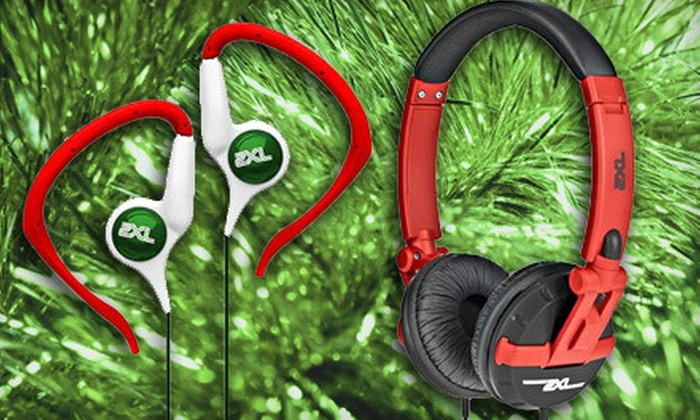 2XL by Skullcandy: $20 for Groove Hanger Bud Headphones and Shakedown Headphones from 2XL by Skullcandy, Including Shipping ($48.98 Value). May not arrive by 12/24.