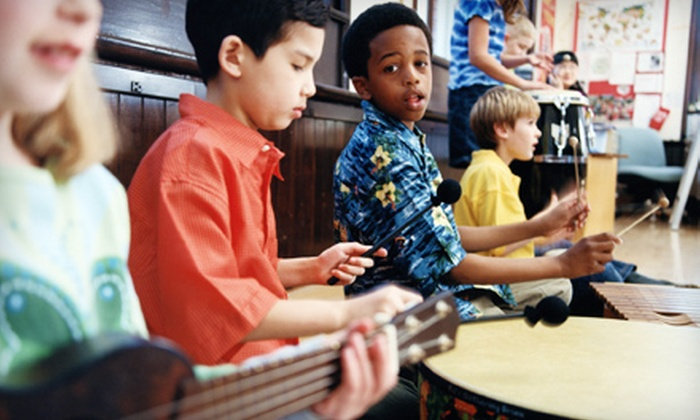 Mintons Academy of Music - The Regency: $60 for Four Weeks of Beginner Guitar, Piano, or Drum Group Lessons at Mintons Academy of Music in Ashburn