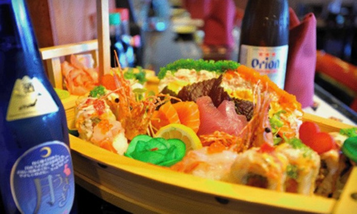 Haru Sushi Bar & Asian Cuisine - Lodi: Dinner for Two or $15 for $30 Worth of à la Carte Sushi and Drinks at Haru Sushi Bar & Asian Cuisine