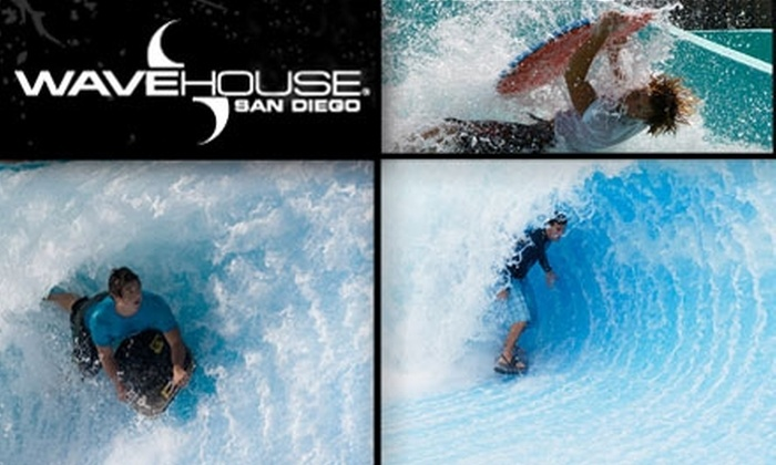Wave House San Diego  - Mission Beach: $40 for Introduction to Wave Riding Surf Package at Wave House San Diego ($85 Value)