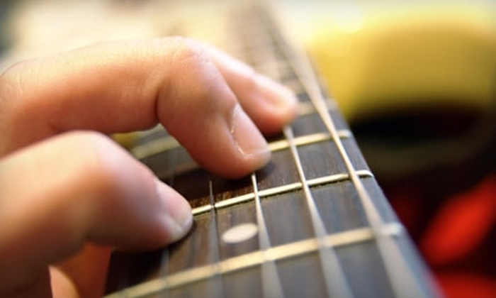 Grand River Music - Eastown: $30 for One Month of Guitar Lessons at Grand River Music  ($68 value)