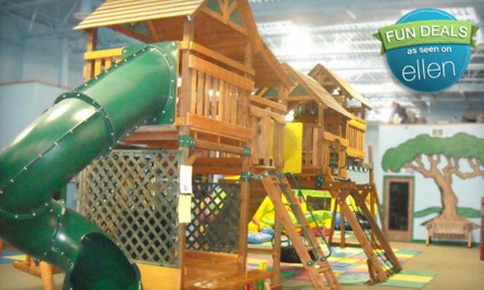 Lost in Fun - Lincoln: 10-Session Children's Play Packages at Lost in Fun (Up to 53% Off). Three Options Available.