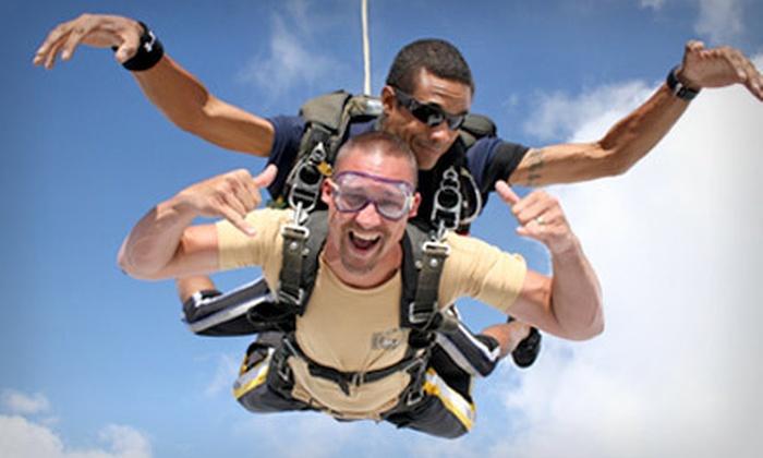 Skydive Houston - Eagle Lake: $238 for a Tandem Skydive for Two from Skydive Houston in Eagle Lake (Up to $398 Value)