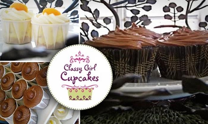 Classy Girl Cupcakes - Juneau Town: $12 for a Dozen Cupcakes from Classy Girl Cupcakes