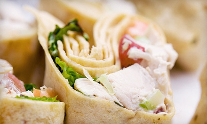 Roscoe's Wrap It Up - Dunellen: Wraps, Salads, and Stir-Fries at Roscoe's Wrap It Up (Up to 53% Off). Two Options Available.
