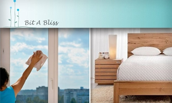 Bit a Bliss Cleaning - Dallas: $30 for a Three-Room Cleaning from Bit a Bliss Cleaning