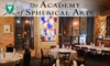 The Academy of Spherical Arts - Liberty Village: $25 for $50 Worth of International Fare at The Academy of Spherical Arts