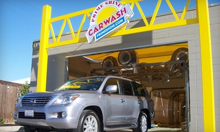 Prime Shine - Multiple Locations: $5 for One Protex Car Wash at Prime Shine