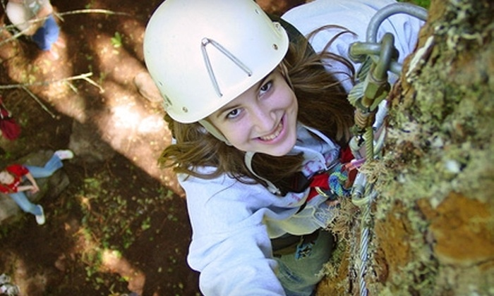 Paradise Trail - Rhododendron: $60 for a Challenge Course Day for Two at Paradise Trail on July 15, July 16, or August 6 in Rhododendron ($120 Value)
