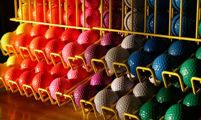 Dietz Creek Golf Range - Leroy: Indoor, Black-Light Mini Golf and Ice Cream for Two, Four, or Six at Dietz Creek Golf Range in Williamston (54% Off)