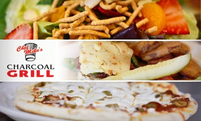 Chef Mike's Charcoal Grill - Pike: $12 for $30 Worth of Grilled Fare and Drinks at Chef Mike's Charcoal Grill