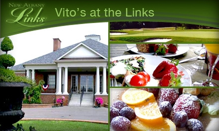 Vito's at the Links - New Albany Links: $9 for $20 Worth of Italian Fare and Drinks at Vito's at the Links