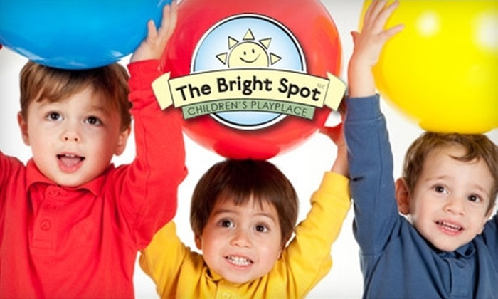 The Bright Spot Children's Playplace - Vernon: Admission and Classes at The Bright Spot. Choose from Three Options.