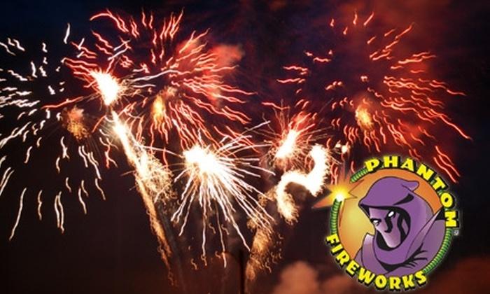 Phantom Fireworks - Multiple Locations: $20 for $40 Worth of Fireworks at Phantom Fireworks