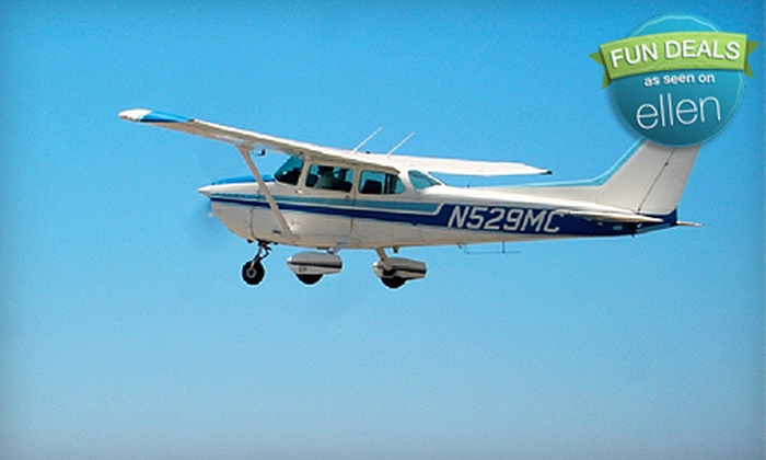 Royal Aviation - Costa Mesa: $99 for a Discovery Flight Package from Royal Aviation in Costa Mesa ($199.95 Value)