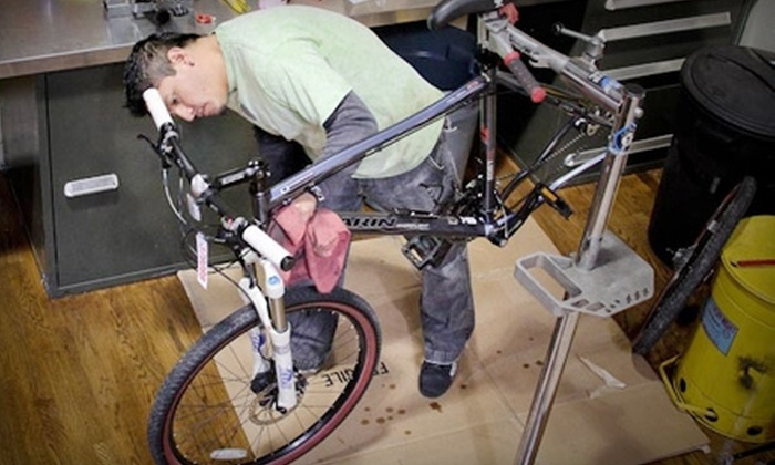 The Bike Connection - Evergreen Park: $35 for a Full Bike Tune-Up at The Bike Connection in Palo Alto ($80 Value)