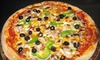 Up to 55% Off at Goomba's Pizza