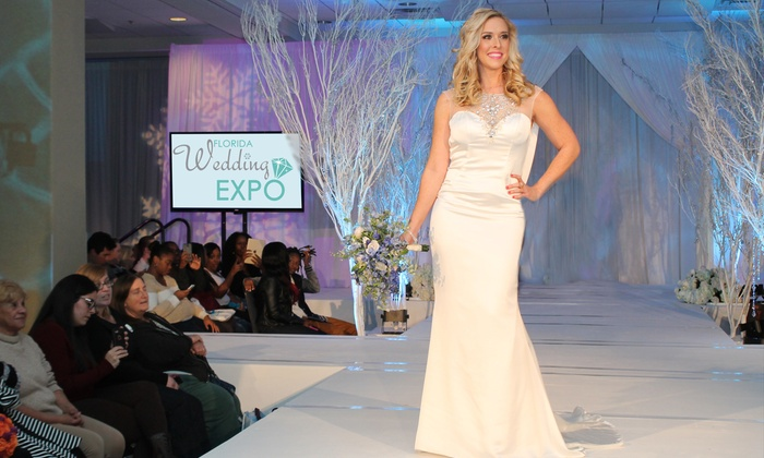 Florida Wedding Expo By Your Wedding TV - Orange County Convention Center West Hall F - Tangerine Ballroom: Florida Wedding Expo By Your Wedding TV for One, Two, or Four on April 17 (Up to 67% Off)