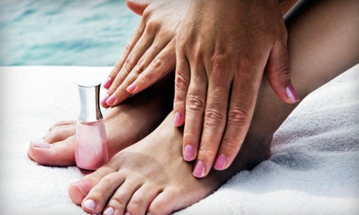 Oh La La Salon by Kat - Miami Lakes: Basic Mani-Pedi or Shellac Manicure and Spa Pedicure at Oh La La Salon by Kat in Miami Lakes (Up to 59% Off)