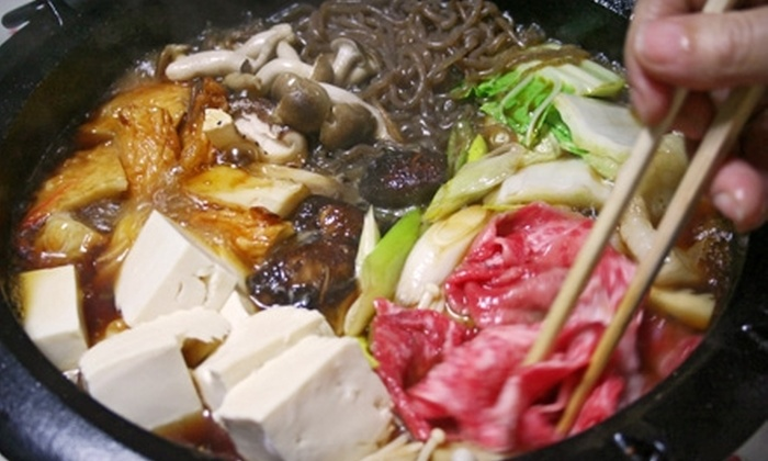 Shabu Japanese Fondue - Sacramento: $10 for $20 Worth of Japanese Cuisine and Drinks at Shabu Japanese Fondue