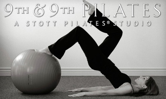 9th & 9th Pilates - East Central: $32 for a Four-Class Pass at 9th & 9th Pilates ($80 Value)