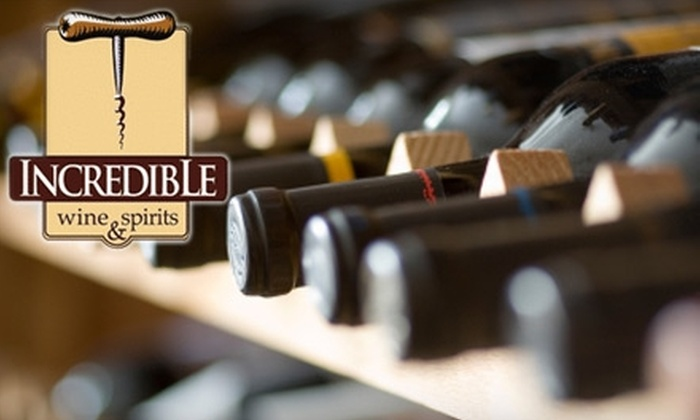 Incredible Wine & Spirits - Greenwood Village: $10 for $20 Worth of Wine, Liquor, and More at Incredible Wine & Spirits in Greenwood Village