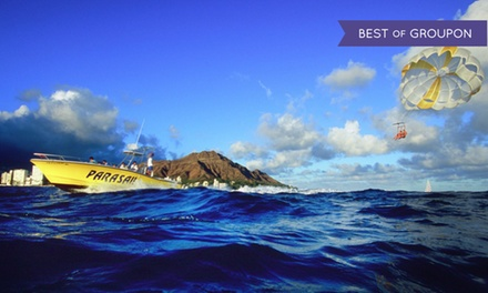 $75 for Tandem Parasail Ride from Diamond Head Parasail ($150 Value)