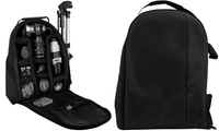 Padded Backpack for DSLR Cameras and Accessories