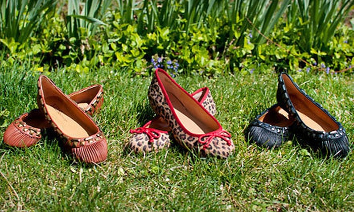 Bettie and Este Flats by Kelsi Dagger: Bettie Ballet Flats and Este Flats by Kelsi Dagger (Up to 64% Off). Multiple Sizes and Colors Available. Shipping Included.