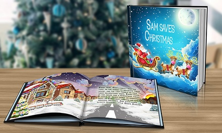 One or Two Hard- or Soft-Cover Personalized Christmas Books from Dinkleboo (Up to 68% Off)