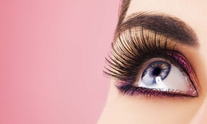 Cyn City Lashes: Full Set of Eyelash Extensions at Cyn City Lashes (Up to 61% Off). Five Options Available.