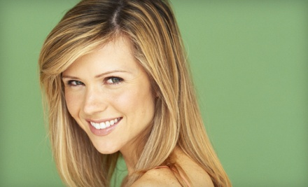 Haircut and Moroccanoil Treatment or Makeover with Facial and Haircut at Salon Kristen (Up to 57% Off)