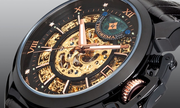 Theorema Men's Automatic Watch in Choice of Model With Free Delivery