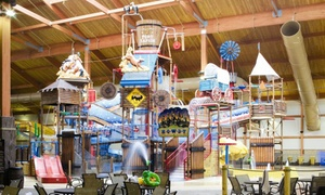 Fort Rapids Indoor Waterpark: One Night Stay with Water Park Passes for Four or Eight at Fort Rapids Indoor Waterpark (Up to 72% Off)