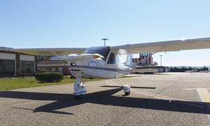 Aeroleba: Bautismo de vuelo en ultraligero para una o dos personas desde 49,95 € en Aeroleba