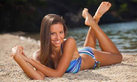 One $19, Two $35 or Three $49 Spray Tanning Sessions at Choo Choo Hair Up to $120 Value