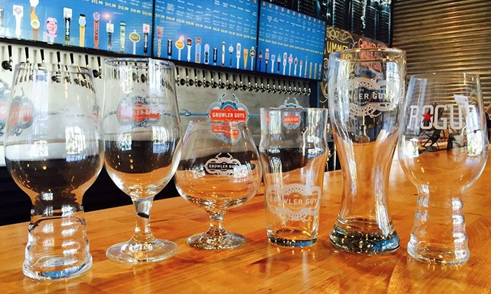 The Growler Guys - Nevada / Lidgerwood: $10 for One 64-Ounce Growler and Fill at The Growler Guys ($15.95 Value)