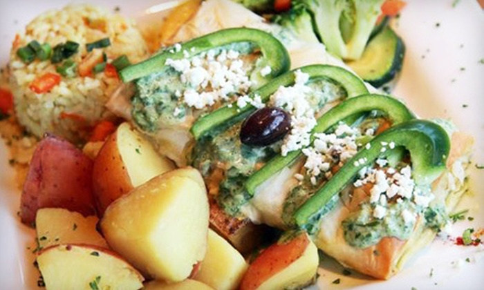 My Big Fat Greek Restaurant - Multiple Locations: Catered Greek Feast for Up to 20 or 40 People From My Big Fat Greek Restaurant (56% Off)