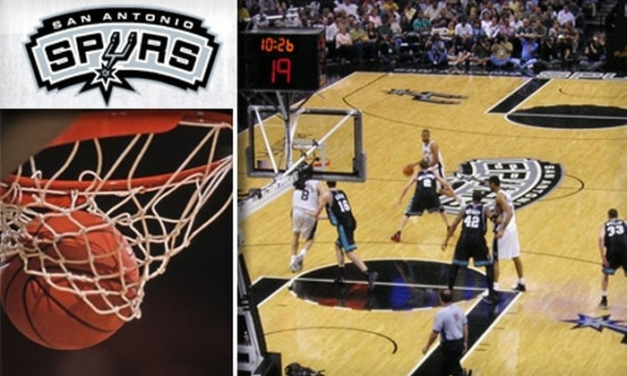 San Antonio Spurs - San Antonio: 52% Off San Antonio Spurs 100-Level Tickets. Buy Here for a $40 Ticket to the 1/27/10 Game Vs. Atlanta Hawks ($84 Value). Click Below For Additional Games and Prices
