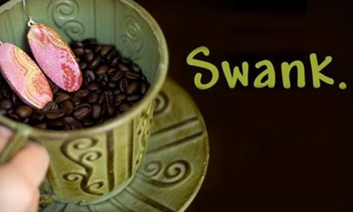 Swank Coffee Shoppe - Southern Pines: $5 for $10 Worth of Coffee and Desserts at Swank Coffee Shoppe in Southern Pines