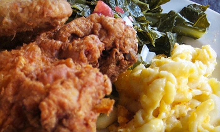 Mert's Heart and Soul - First Ward: $10 for $20 Worth of Soul Food at Mert's Heart and Soul