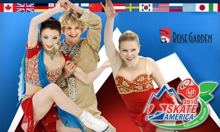Rose Quarter - Lloyd District: $25 for One Gold Ticket to U.S. Figure Skating's Skate America at the Rose Garden on November 14 ($55 Value)