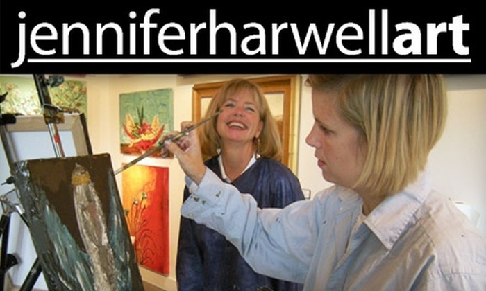 Jenniferharwellart - Central City: $20 for a Two-Hour Painting Class at Jenniferharwellart ($40 Value)