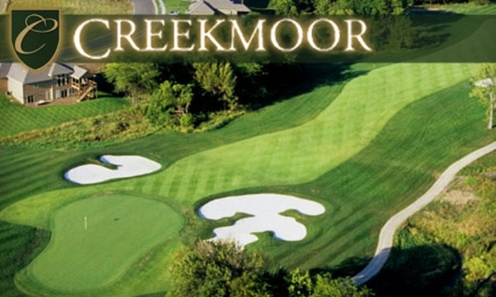 Creekmoor Golf Club - Raymore: $39 for 18 Holes of Golf, a Large Bucket of Balls, and a Cart Rental at Creekmoor Golf Club in Raymore (Up to $79 Value)