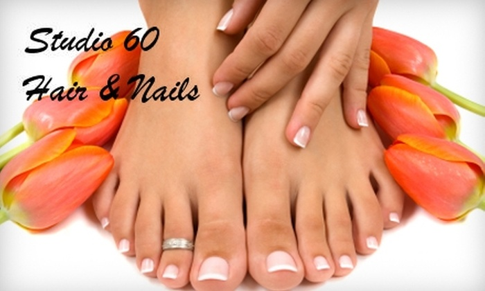 Studio 60 Hair & Nails - Centerville: $30 for a Spa Mani-Pedi at Studio 60 Hair & Nails ($60 Value)