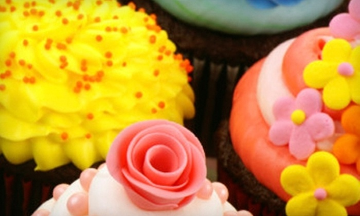 The Cupcakery of Elizabeth City - Downtown Elizabeth City: $12 for One Dozen Gourmet Cupcakes at The Cupcakery of Elizabeth City ($24 Value)